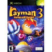 Rayman 3 Hoodlum Havoc  Xbox Clássico Original Americano Completo