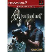 Resident Evil 4 Original Ps2 Original Americano Completo