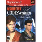 Resident Evil Code Veronica X Original Ps2 Original Americano