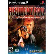 Resident Evil Dead Aim Ps2 Original Americano Completo