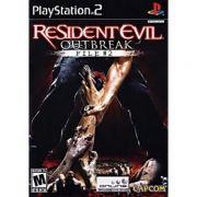 Resident Evil Outbreak File 2 Ps2 Original Americano Completo