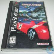 Ridge Racer Ps1 Long Box Original Completo Americano