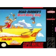 Road Runner's Death Valley Rally Snes 100% Original Americano