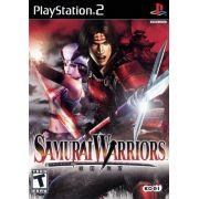 Samurai Warriors Ps2 Original Americano Completo