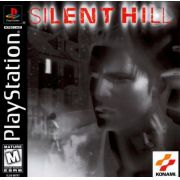 Silent Hill Ps1 Original Americano Black Label Completo