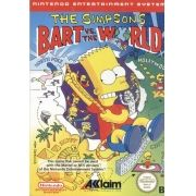 Simpsons Bart Vs World NES 8-Bits 100% Original Americano