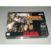 Soldiers of Fortune SNES Completo Com Manual