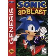 Sonic 3d Blast Original Americano Mega Drive