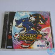 Sonic Adventure 2 Dreamcast Original Americano Completo