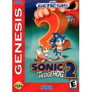 Sonic The Hedgehog 2 Mega Drive 100% Original Americano Completo