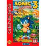 Sonic the Hedgehog 3 Original Mega Drive Completo