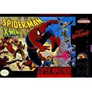 Spider Man and X-Men Arcade's Revenge Snes 100% Original