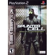 Splinter Cell Ps2 Original Americano Completo