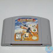 Star Wars Rogue Squadron Nintendo 64 Original Americano