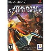 Star Wars Starfighter  Ps2 Original Americano Completo