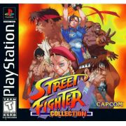Street Fighter Collection Ps1 Original Americano Completo