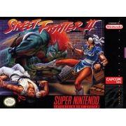 Street Fighter II The World Warrior Super Nintendo 100% Original Americano