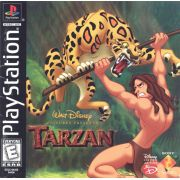 Tarzan Ps1 Original Americano Completo Black Label
