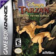 Tarzan Return To The Jungle GBA Original