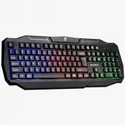 Teclado Gamer Ranger Usb Teclado Evolut EG-207 Rainbow Backlight
