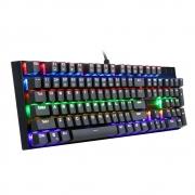 Teclado Mecanico Redragon Gamer Rudra Full Size Anti Ghosting Outemu Blue Mark.2 Rainbow