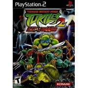 Teenage Mutant Ninja Turtles 2 Battle Nexus Ps2 Original Completo