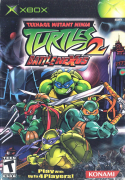 Teenage Mutant Ninja Turtles 2 Original Americano Xbox Classico