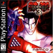 Tekken 3 Ps1 Original Americano Completo Black Label
