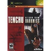 Tenchu Return From Darkness  Xbox Clássico Original Americano Completo