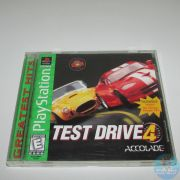 Test Drive 4 Ps1 Original Americano Completo