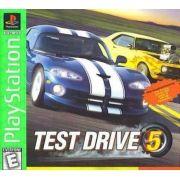 Test Drive 5 Ps1 Original Americano Completo