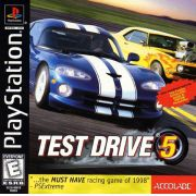 Test Drive 5 Ps1 Original Americano Completo