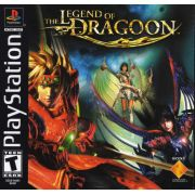 The Legend of Dragoon Ps1 Original Americano Completo Black Label