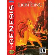 The Lion King Original Mega Drive Completo
