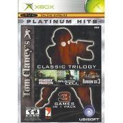 Tom Clancys Classic Trilogy Xbox Classico Original Completo 3 Jogos.