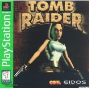 Tomb Raider Ps1 Original Americano Completo