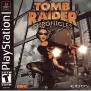 Tomb Raider Chronicles PS1 Original Americano Completo