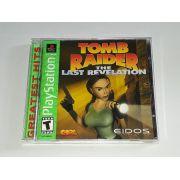 Tomb Raider Last Revelation Ps1 Original Americano Completo