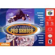 Tony Hawk's Pro Skater Nintendo 64 Original Americano