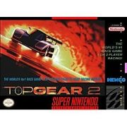 Top Gear 2 Super Nintendo 100% Original Americano