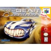Top Gear Overdrive  Nintendo 64 Original Americano