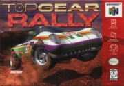 Top Gear Rally N64 Nintendo 64 Original Americano