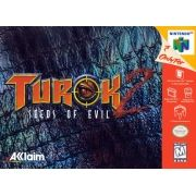 Turok 2 Seeds of Evil Nintendo 64 Original Americano