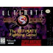 Ultimate Mortal Kombat 3 Super Nintendo 100% Original Americano