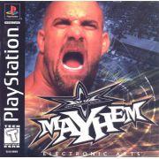 Wcw Mayhem Ps1 Original Americano Completo