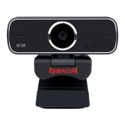 Webcam Hd Redragon Gw600 Streaming Fobos Rotação 360° - Hd 720p
