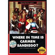 Where in Time is Carmen Sandiego Mega Drive 100% Original Americano
