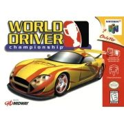 World Driver Championship  Nintendo 64 Original Americano