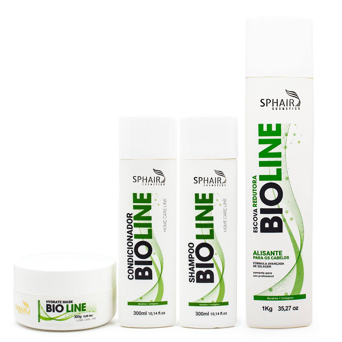 <b>Bioline Kit Completo Home Care + Progressiva</b> - De R$ 525,48 Por R$ 367,88
