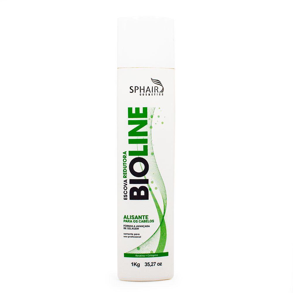 Escova Progressiva Sem Formol Reconstrutora Bioline + (GANHE 50% DE DESCONTO NA SEGUNDA UNIDADE)